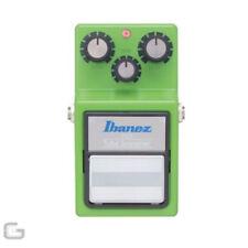 Pedales de efectos de distorsión y overdrive Ibanez para guitarras y bajos