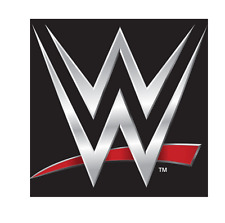 1 LARGE 5INCH  WWE LOGO LOOK EDIBLE BIRTHDAY PARTY ICING CAKE TOPPER