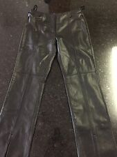 Guess Leather Pants - Size 6 - Black (Lot A)