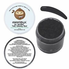 CocoNinja Coco carbon organic black toothpaste natural teeth whitening Blend
