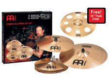 "Meinl MCS Limited Edition Cymbal Set + FREE 16"" Trash Crash"