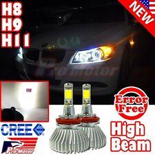 H11 H8 H9 Error Free COB CREE White Xenon High Beam Headlight LED Bulbs 5000K