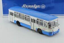 1/43 Russian Ussr Bus Liaz 677M 677 M Soviet Bus Diecast Blue