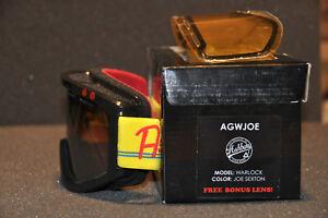 ASHBURY Warlock [ JOE SEXTON ] Snowboard Schneebrille Skibrille extra Lens NEU