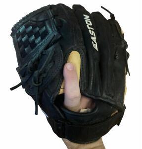 "Easton Baseball Softball Glove Black Magic LHT Left Handed Throw BX1300B 13"" EUC"
