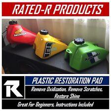 Honda XR 75 100 250 400 500 600 Plastic Polishing Pad Fender Gas Tank Shrouds