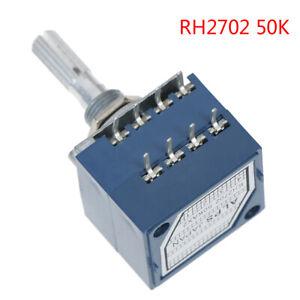 1Pcs potentiometer 50K log alps audio amp volume control pot stereo w loudnes Wj