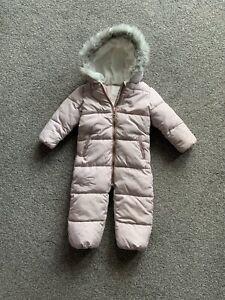 Toddler Girls Snowsuit 18-24 Months From Next