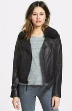 SALE! MICHAEL KORS leather BIKER MOTORCYCLE MOTO jacket  XL NWT BLACK