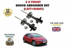 FOR HONDA CIVIC 1.4 1.8 2.2 CDTI 2006-> 2x FRONT SHOCK ABSORBER SHOCKERS SET