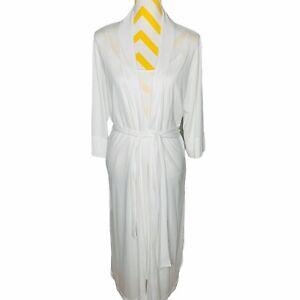 Natori Ivory Nightgown and Robe Set Size S Soft Modal