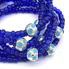 Wholesale Soccer Theme Beaded Stretch Bracelets Handmade in the USA Lot of 7 NEW