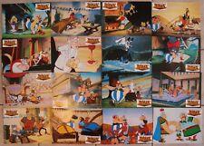 Asterix vs Caesar German lobby card set 16 animation