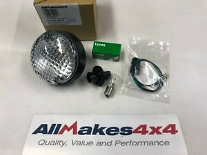 Allmakes Land Rover Defender NAS Upgrade Round Reverse Light Lamp, Bulb & Lead