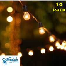 10 Piece Clear Festoon Party String Light Kit-Party Lights