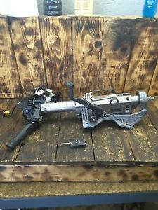 2014 CHEVY CRUZE CHEVROLET 11-15 STEERING COLUMN CONVENTIONAL IGNITION W/ KEY