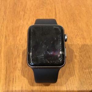 Apple Watch 3 Aluminium (42mm, Black) *Has Not Been Tested* #453