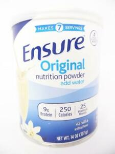 Ensure Original Nutrition Powder with 9g of Protein Per Serving, Vanilla, 14 oz.