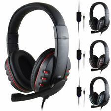 3.5mm Auriculares Para Juegos Cancelación De Ruido Con Micrófono Para PC E3R9
