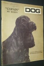 The Dog Fancier Magazine English Cocker Spaniel Cover Apr 1982