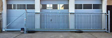 Industrietor Schiebetor Hoftor freitragend E-Antrieb SOFORT verfügbar 7,0x1,7m L
