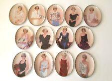13 Princess Diana Collector Plates Queen of Our Hearts Bradford Exchange W/COA'S
