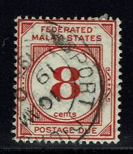Federated Malay States SG# D4, Used, Watermark to Right -  Lot 013116
