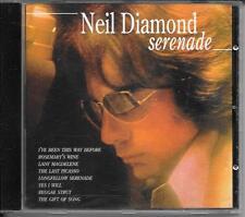 CD ALBUM 8 TITRES--NEIL DIAMOND--SERENADE--1996