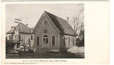 Early 1900's The W.C.T.U. Building in Mullica Hill, NJ New Jersey PC