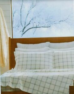 NIP KOOLABURRA by UGG king 100% Cotton Heavyweight FLANNEL SHEETS thames