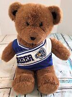 "Build A Bear BABW Stuffed Animal Brown Bear Cheerleader Outfit Cheer Plush 15"""