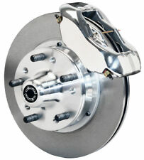 "WILWOOD DISC BRAKE KIT,FRONT,87-93 FORD MUSTANG,11"" ROTORS,POLISHED CALIPERS"