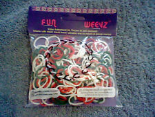 BRAND NEW  FUN WEEVZ 300 PIECE RUBBERBAND KIT (WORKS WITH LOOM KITS)