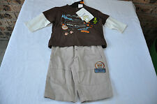 BABY BOYS SIZE 00 TWO PIECE WINTER OUTFIT BRAND NEW WITH TAGS