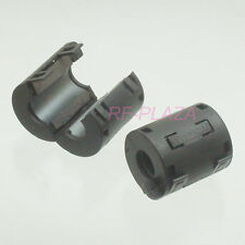 2x TDK black Φ13mm Cable Clamp Clip RFI/EMI/EMC Noise Filters Ferrite Core Case