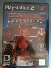 Backyard Wrestling 2 PS2 SIGILLATO EDIZONE ITALIANA