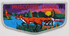 OA Lodge 221 Muscogee S23 Flap GRY Border Combination Honors Issue  [R350]