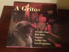 "V/A A GRITOS 12"" LP GOTH DEATH ROCK HARD GOTHIC SEX BAD TASTE PERPETUOS"