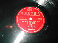 78 RPM CURT MASSEY THE GANG THAT SANG HEART OF MY HEART DONT LIE TO ME COL 36885