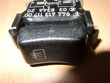 PORSCHE 944 / 968 REAR WINDOW SCREEN HEATER DEMIST SWITCH .. 944 613 117 00