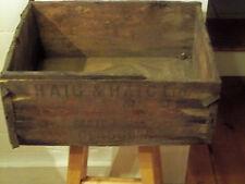 Vintage Wooden Box Haig & Haig Scots Whiskey Glasgow