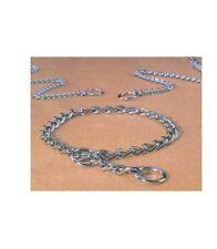 "Steel Choke Dog Chains - X Fine - 10"" or 12"" - Top quality rustproof dog chain"