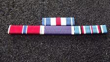 ^ Ordensspange WWII 4 Bandspangen TOP Preis Silver Star, Bronze St, Purple H. AC
