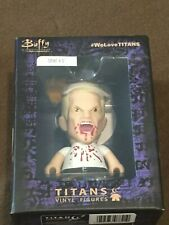 "Buffy The Vampire Slayer BTVS 4.5"" Spike Titans Vinyl Figure Horror Block Ex NEW"