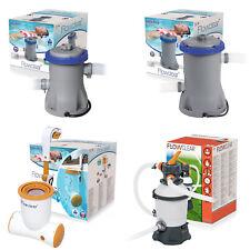 Bestway Pumpen für Pool Filterpumpe Sandfilter Flowclear Poolreinigung Filter