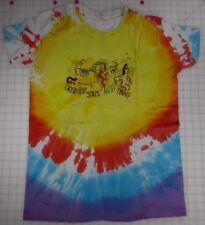 Crosby Stills Nash Young RARE Vintage Tie-dyed Large T-Shirt RARE