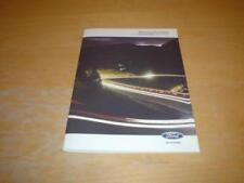 Focus Paper Car Owner & Operator Manuals