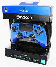Nacon PS4 Controller / Gamepad Compact - Color Edition - Blau - Neu & OVP