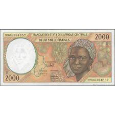 TWN - CENTRAL AFRICAN REPUBLIC (C.A.S.) 303Ff - 2000 2.000 Francs 1999 AU/UNC