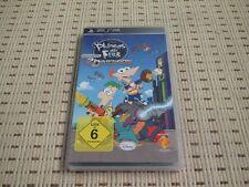 Phineas und Ferb Quer durch die 2. Dimension für Sony PSP *OVP*